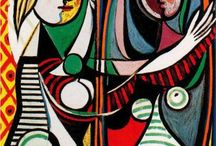 Picasso / Prolific Spanish genius Pablo Picasso.  I marvel at the range of styles he mastered.   / by Melody Dodd