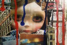 Coll'Art / Tableaux papiers collés, gouache, huile...  EXPO ART CONTEMPORAIN  VOEUX D'ARTISTES  Du 17 au 27 novembre 2016   Maison de l'Artisanat et des métiers d' Art 21 cours d'Estienne d'Orves 13001 MARSEILLE