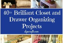 40 Brilliant Closet and Drawer Organizing