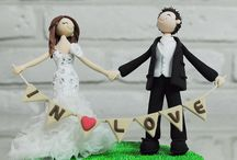 Wedding Cake Toppers / by Angela Campbell