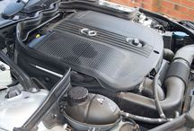 Mercedes Engine Bay Detailed / http://www.waxyclean.co.uk Team clean up a Mercedes Engine.  NICE N SHINEY!
