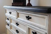 Ideas for restoring my dresser. / by Laura McNelly