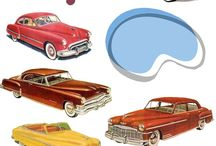 Vintage Cars and More / by Marion Biggs