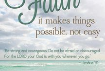 Faith makes things possible not easy