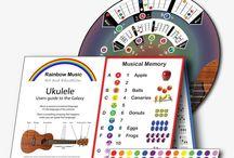 Ukulele Wheel / Collection of Images for the Ukulele Wheel