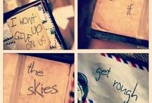Lyrics / by Rebekah Dutcher