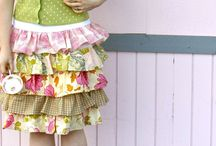 Clothes / Ruffled skirt