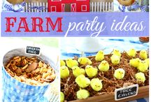 Party: {farm party} / Craft DIYs and inspiration for all things related to a farm party theme!