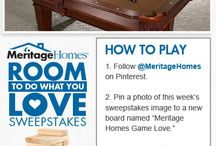 """Meritage Homes Game Love.""  / by Claudia Mcgee"