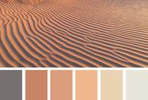 Colour Palettes - Desert