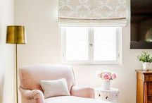 Home Decor | Reading Corner / Home Decor Inspiration and Ideas for a home reading corner and favourite cosy armchairs.