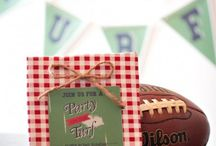 Party Theme: Super Bowl 50 - Denver Broncos / ideas for throwing a Super Bowl party