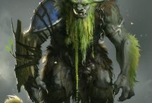 Fantasy Creature Ideas / Interesting creatures/characters found on the Internet for inspiration.