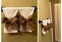 Decorate the towel