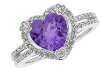 Amethyst Gemstone February Birthstone Jewelry / Gemologica.com offers a wide selection of #purple #color #amethyst #gemstone #february #birthstone #diamond #custom #jewelry #flower #sets #rings #necklaces #stud #earrings #for #sale #mom #him #her #kids #dad #grandma #charms #zodiac #sign #real #amethysts #women #men #gifts #stone #designs #925 #SterlingSilver #pink #rose #white #black #gold #silver #build #your #own #Gemologica #Reviews #Jewellery