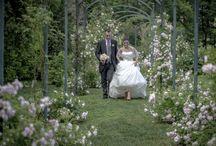 Passeggiata fino al Lago / La splendida passeggiata fino al lago, sotto gli archi di roselline in fiore. Scenografie che rimangono nel cuore!