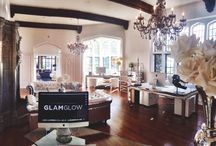 GLAMLAND / An insider look into the world of GLAMGLOW at GLAMLAND Manor, our headquarters in Hollywood, California.