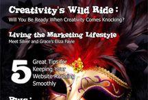 The Creativepreneur / Blue Sun Studio's magazine for creative business people