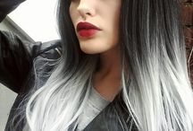 grey/silver colours