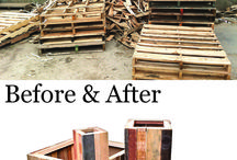 Before & After / Our goal is to keep unnecessary waste out of landfills and to reuse and recycle as much material as possible! Here are some of the amazing transformations we have made happen!