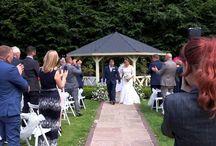 Hallgarth Hall Hotel wedding
