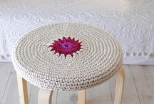 Crochet - Chair/Stool / by Elisha Cardamone