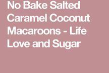 Carmel macaroons