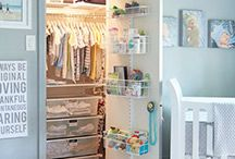Nursery Organization / Create an organized nursery with room for your little ones to grow - all with a little help from The Container Store!