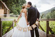 Ideen für ein Danke / Hochzeit Dankeskarte