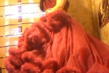 Red Cloud Dress Crossdressing / My photo (crossdressing)