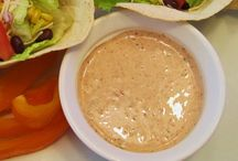 Dips/Dressings / by Christina Gaspard