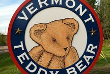 Vermont Teddy Bear Factory / Having some fun in the Vermont Teddy Bear Factory. / by Vermont Teddy Bear