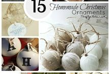 Homemade Ornaments / A collection of homemade ornament ideas for christmas trees