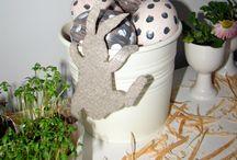 Easter Decoration / http://littlehomeinspiration.blogspot.com