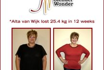 Before & After Gallery - Slender Warriors / We love celebrating our Slender Warrior's achievements. If you would like to submit yours, email entries@slenderwonder.co.za