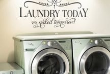Laundry / My laundry room makeover  / by Trish Brown