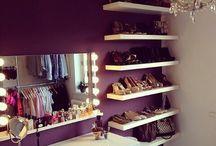 Closet/bathroom/dressing room / by Kelsey Slayton