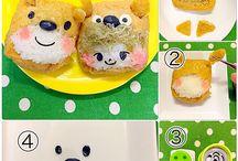 キャラ弁 / by SnapDish Recipe & Food