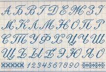 Буквы и цыфры