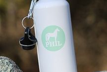 Water Bottles by Phil the Horse