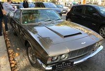 Aston Martin DBS Vantage 1968 / Aston Martin DBS Vantage 1968 6 cylindres en ligne  3 Webers double corps 285 cv Tout en aluminium  4 freins à disque Suspension réglable à l'intérieur