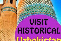 Best Of Uzbekistan / Best places to visit in Uzbekistan