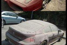 My Cars Abandoned cars in Dubai - 9GAG