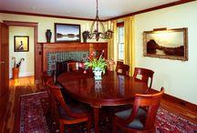 RSM Interior Design: Dining Room Spaces / Dining Spaces by Rariden, Schumacher & Mio Interior Design