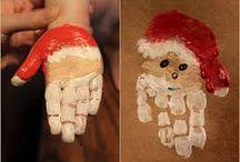 téli kézműves foglalkozás