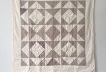 Quilt: two color beauties