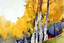 Watercolor to learn from