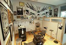 Tattoo shop design
