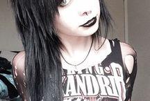 emo goth rock punk