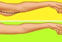 при дряблости рук